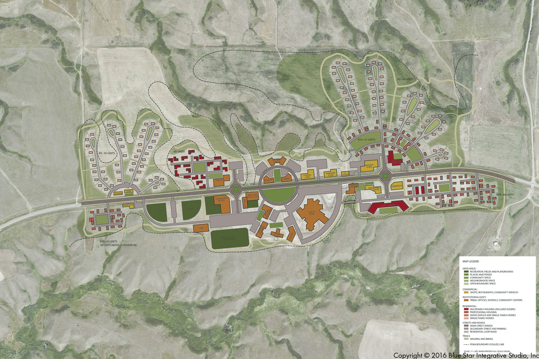 MIDDLE DRY FORK PRELIMINARY ENGINEERING REPORT Site Plan